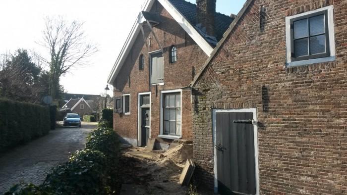De Boerderij Huizen : Verbouw monumentale boerderij huizen thedingabouw thedingabouw